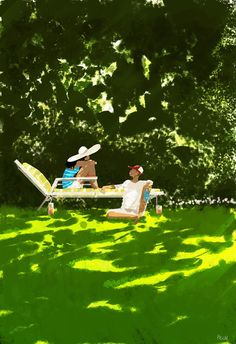 :) Heartwarming Illustrations by Pascal Campion