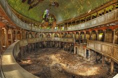 Abandoned  - protestant church in poland