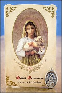 SHARING CATHOLIC TRUTH: June 15: St. Germaine Cousin, virgin - patron saint of the abused, neglected and marginalized.