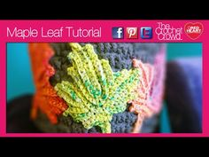 Learn how to crochet a maple leaf. Perfect for Canadians looking to accessorize their projects with a fabulous leaf. These are also great for decor accents s...