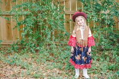 Little Cowgirl Outfit Cowgirl Costume for by PinkMouseKids on Etsy