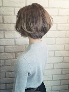 【ALBUM原1】圭祐_3Dハイライトベージュショートボブ_ba14573 - 24時間いつでもWEB予約OK!ヘアスタイル10万点以上掲載!お気に入りの髪型、人気のヘアスタイルを探すならKirei Style[キレイスタイル]で。