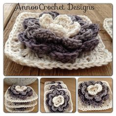 Ravelry: Water Lily Granny pattern by Annoo Crochet