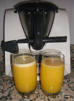 Recopilatorio de recetas thermomix: Zumo de mandarina y piña con thermomix