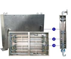 HYPOPAC CONCENTRIC TUBULAR ELECTROLYSER FOR ANTIFOULING SOLUTION PRODUCTION