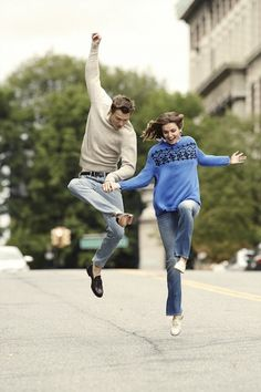 Andreea Diaconu And Ansel Elgort Go Ivy League Cool For Vogue via @WhoWhatWear