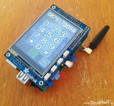 PiPhone: DIY Raspberry Pi-based smartphone