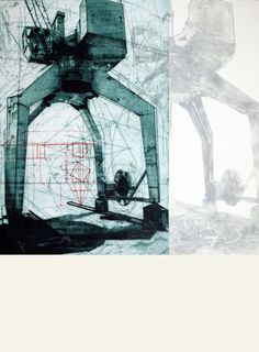 #Wenceslao #Robles TÍTULO: Patas • TÉCNICA: Aguafuerte, aguatinta, punta seca y collagrap • TAMAÑO PAPEL/PLANCHA (cms):56x76/56x55 • EDICIÓN: 40 ejemplares • http://www.a-cuadros.com/artistas/artista/195