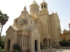The Armenian Church and Genocide Memorial Chapel on Beirut, Lebanon