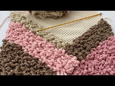 ZİNCİRLİ TUNUS İŞİ HALI KAYDIRMAZ ÜZERİNE PASPAS YAPIMI/CHAIN TUNISIA BUSINESS CARPET MAT - YouTube Carpet Mat, Girl Dress Patterns, Crochet World, Cross Stitch Flowers, Crafts To Make, Decoration, Projects To Try, Blanket, Rugs