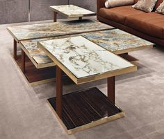 Coffee tables | Tables | Layer | Longhi | Alessandro La Spada. Check it out on Architonic