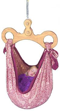 Happy Hangup hanging -- whoa!  Would have loved having one for naps when my boys were young!  Sweet!