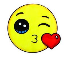 Emoji fofo love you mor Kawaii Girl Drawings, Emoji Drawings, Animal Drawings, My Drawings, Kawaii Doodles, Kawaii Art, Cute Easy Drawings, Dibujos Cute, Drawing Projects