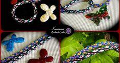 Pulseras de kumihimo: diseño floral de 24 hilos | Manualidades