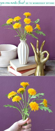 Dandy Dandelions ✨ Today is National Dandelion Day! In the spirit of these cheery flowers we have created our own version using our crepe paper line. You can make your own here https://liagriffith.com/crepe-paper-dandelion/⠀⠀⠀⠀⠀⠀⠀⠀⠀ *⠀⠀⠀⠀⠀⠀⠀⠀⠀ *⠀⠀⠀⠀⠀⠀⠀⠀⠀ *⠀⠀⠀⠀⠀⠀⠀⠀⠀ #dandy #dandelion #dandelions #nationaldandelionday #crepepaper #crepepaperrevival #crepepaperflower #crepepaperflowers #spring #paper #papercut #paperlove #papercraft #papercrafts #paperflower #paperflowers #diy #diycraft…