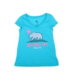 Billabong Billie Girls' Born In Cali S/S T-Shirt (4/16)
