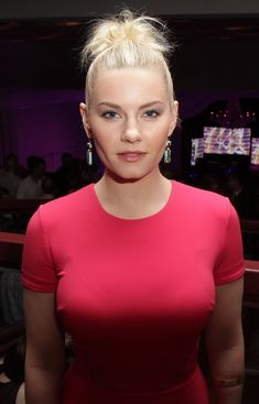 Elisha Cuthbert. This one I can maybe kinda sorta see... In my wildest dreams! When she was on 'My Sassy Girl'.. I think two people said it.