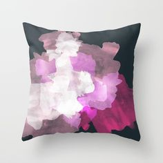 Pink and black pillow #modernstyle #style #homeideas #homedecor #pillows #society6 #trendydecor #trendy available via Society6 page