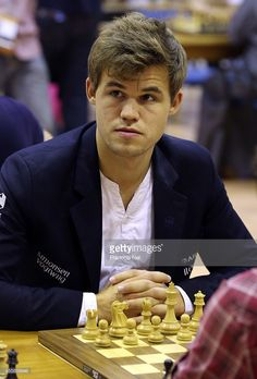 16 Best Magnus Carlsen images in 2015 | Magnus carlsen, Chess, Gingham