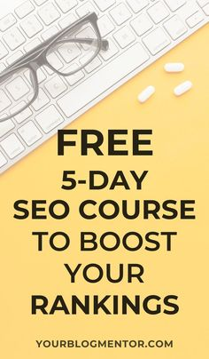 Don't know anything about Search engine optimization and ranking in search engines. Sign-up for this free 5-day SEO course to learn how to optimize your blog posts and images to boost your rankings and increase your organic traffic.  #seo #search #engine #optimization #seotips #organictraffic #google