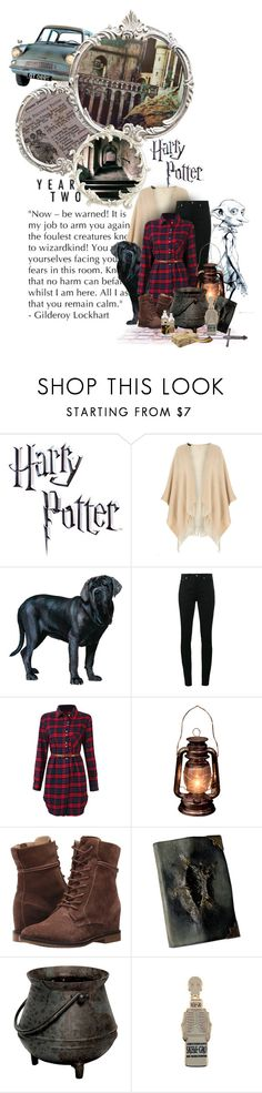 """The Chamber of Secrets"" by assymi ❤ liked on Polyvore featuring Dorothy Perkins, Yves Saint Laurent, Hush Puppies, S.W.O.R.D., Berthold, harrypotter, hogwarts and magic"