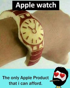 Apple watch! Funny School Jokes, School Humor, Funny Love, Really Funny, Top Funny, Funny Quotes, Funny Memes, Hilarious, Inspirational Memes