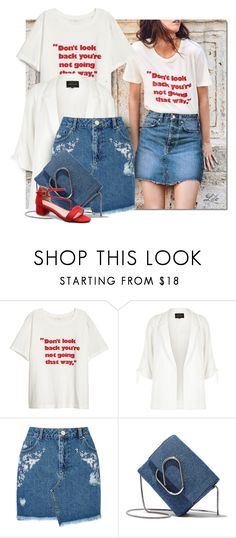 """""""Casual look"""" by breathing-style ❤ liked on Polyvore featuring River Island, Miss Selfridge and 3.1 Phillip Lim"""