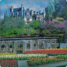 The Biltmore Mansion in North Carolina.  Visited there in September 2011...would love to go in the Spring to see the gardens in bloom.