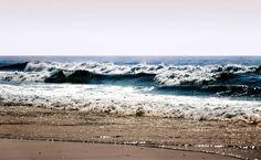 Sea Waves Beach HD Wallpaper