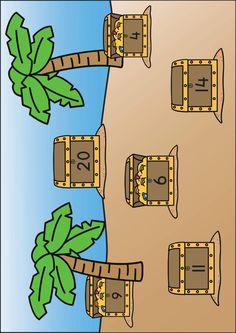 Spellenpakket piraten de schat Peanuts Comics, Pirates