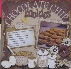 Choc.chip cookie recipe for cookbook - Scrapbook.com
