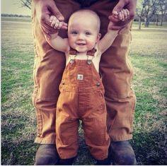 Carhart baby!! AHH such a good idea :D!!!!!!