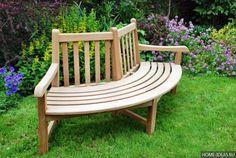 необычная дизайнерская скамейка