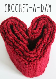 Get Ready to Crochet-A-Day All Month Long - Make and Takes