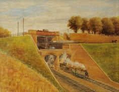 Three Bridges (Rail, Canal and Road), Southall, Ernest A. Three Bridges, Central Library, Close To Home, Art Uk, Old Photos, This Is Us, Nostalgia, London, Explore