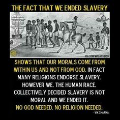 """Early Mormon """"prophets"""" did in fact endorse slavery. Look it up. LDS no more. Quotes."""