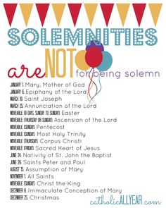 Catholic All Year: Solemnities are NOT for Being Solemn: What They Are, Why They Matter, and New Free Printables for the Solemnity of St. Joseph