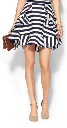 Striped skirt http://rstyle.me/n/vtnrwn2bn