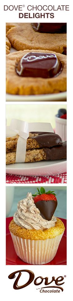 Dove Chocolate Desserts for Spring
