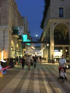 The Mamilla Mall in Jerusalem