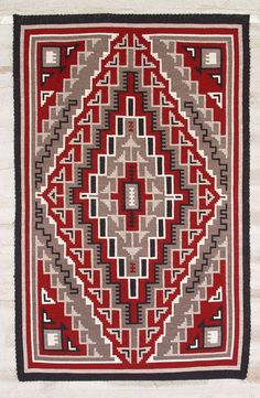 The Ganado Rug - perhaps the epitome of Navajo weaving.
