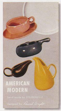 Vintage Russel Wright dinnerware!