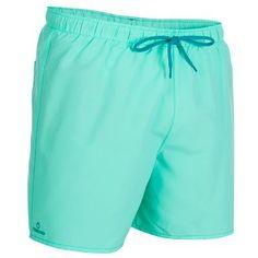 Costumi mare - Boxer corto uomo HENDAIA verde acqua TRIBORD