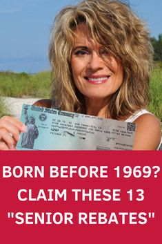 "Born Before 1969? Claim These 13 ""Senior Rebates"""