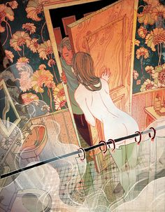 by Victo Ngai http://hifructose.com/2012/10/17/victo-ngais-action-packed-illustrations/