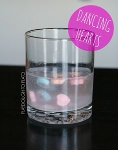 Activity for ages 3 to 8. After making gummy worms dance a few months back, my boys have been BEGGING to make something else boogy and shake. So when I saw conversation hearts at the Dollar Tree store, I knew they'd be perfect for a new science activity: dancing conversation hearts!! Getting Ready To prep, …