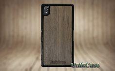 Sony Xperia Z2 Real wood walnut case Vintage handmade par UnikCase1