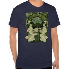 Art Nouveau Absinthe Poster II Shirt