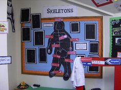 Skeletons and hospital role-play classroom display photo - Photo gallery - SparkleBox