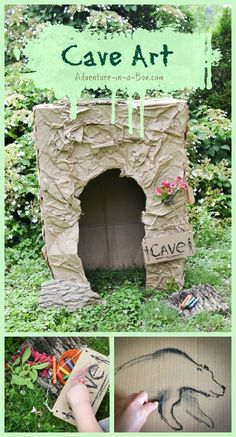 Cave Art for Kids: B